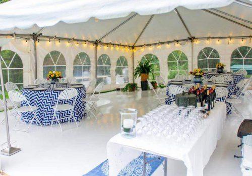 rent a tent, party tent rental